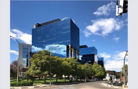 Openbex alquiler oficina en madrid en avenida burgos 19 for Oficinas ibercaja burgos